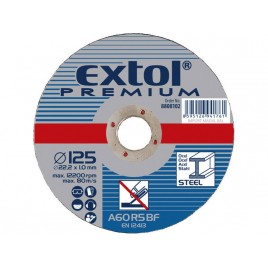 EXTOL PREMIUM Tarczaca do metalu 150x1,6x22,2mm 8808115