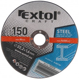 EXTOL CRAFT tarcza do metalu 150x1,6x22,2mm 5 szt. 106930