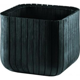 KETER CUBE PLANTER M Doniczka, 40 x 40 x 40cm, antracyt 17201220